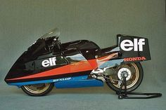 Long forgotten: The crazy experimental bikes Elf built