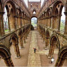 Jedburgh abbey in Scotland