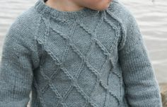Lancelot en 4 ans par Tricofil {knit in kumlien's gull}