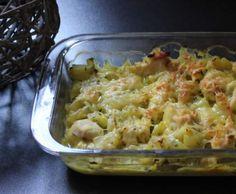 Recette Gratin de courgettes au poulet et curry par Papilles-on-off - recette de la catégorie Plat principal - divers