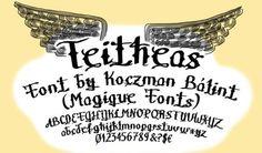 40 Cool Tattoo Fonts – Yemista
