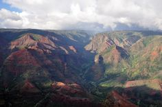 Waimea Canyon. Probably one of the prettiest places I've been to, ever.