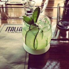 The Botanist cocktail from Italian at the Pacific via mintandfizz.blogspot.com #byronbay #mintandfizz
