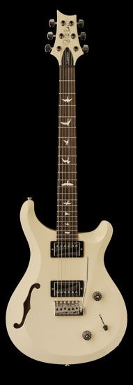 All guitar I'll ever need!!! PRS S2 Custom 22 Semi-Hollow Antique White