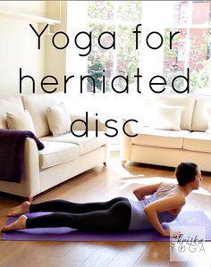 Yoga routine for back pain ~ herniated disc - Yoga Stylings Scoliosis Exercises, Back Pain Exercises, Yoga Exercises, Herniated Disc Lower Back, Yoga For Back Pain, Back In The Game, Kundalini Yoga, Pranayama, Yoga Routine