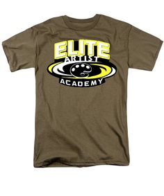 Purchase an adult t-shirt featuring the image of Artist Elite Academy by Darren Cannell. Available in sizes S - Each t-shirt is printed on-demand, ships within 1 - 2 business days, and comes with a money-back guarantee. Education Degree, Teaching Career, High School Art, Volleyball, Artist, Mens Tops, T Shirt, Supreme T Shirt, Tee Shirt