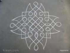 kolam with dots for beginners - Google Search