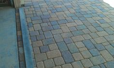Belgard Cambridge Cobble in tuscana color in phoenix by Rex Mann