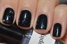 Black plus glitter