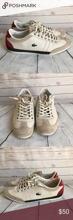 Lacoste Men Sneaker/Shoes Great used condition! 8/10 **No Insoles** **No Box** Lacoste Shoes Sneakers