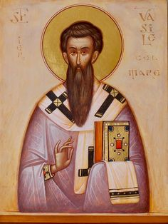 St. Basil the Great by Gabriel Toma Chituc
