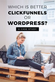 If you're selling an online health and/or wellness course, service or product, you may be curious if ClickFunnels or WordPress is better . and I'm here to share a shocking answer for you. Get the scoop here. Need Money, How To Make Money, Boss Babe Quotes, Blog Sites, Small Business Marketing, For Your Health, Health Coach, Case Study, Online Courses