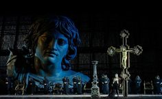 The fifth title on the Arena Opera Festival 2019 programme was Giacomo Puccini's Tosca in its 2006 staging by Hugo de Ana. Set Theatre, Theatre Stage, Theatre Design, Stage Design, Musical Theatre, Set Design, La Tosca, Arena Stage, Stage Set