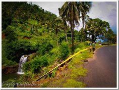 Falefa Waterfall in Apia, Samoa