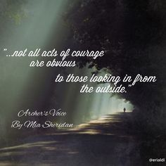 Acts of courage - Archer's Voice, Mia Sheridan