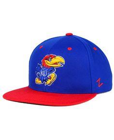 finest selection dd25d c265f Zephyr Kansas Jayhawks Z11 Snapback Cap   Reviews - Sports Fan Shop By Lids  - Men - Macy s