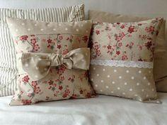 Shabby chic sofa covers home 33 trendy Ideas Sewing Pillows, Diy Pillows, Cushions, Throw Pillows, Accent Pillows, Handmade Pillow Covers, Handmade Pillows, Decorative Pillows, Cushion Embroidery