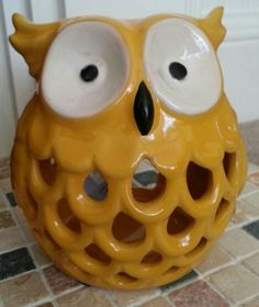 Gorgeous owl tealight holder. Great mothers day gift from pinkyred.co.uk