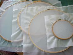 I have previously featured on using embroidery hoops to make gifts for family and friends, but a new trend is to use embroidery hoops for silk screening or printing onto fabric. This method is far easier than setting up a silk screening frame and you can be printing on fabric sooner than you think. http://www.home-dzine.co.za/crafts/craft-hoopscreen.htm#