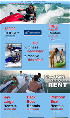 33 best shawk designs images on pinterest design your website and another landing page for showing off jet ski rentals and water craft rentals for a local fandeluxe Image collections