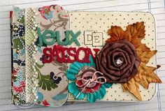 fun mini by Marie-Nicolas Alliot with a great tutorial on how to make it.
