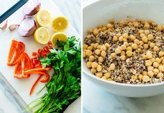 How To Cook Red Quinoa Recipes.Red Quinoa Pilaf With Kale And Corn. Spinach And Quinoa Salad With Grapefruit And Avocado. Not Just For Passover Quinoa Stuffed Grape Leaves In Red . Home and Family Best Quinoa Salad Recipes, Healthy Recipes, Avocado Recipes, Clean Eating Salads, Healthy Eating, Veggie Dishes, Salad Dishes, Veggie Food, Food Staples