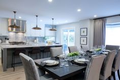 Modern furniture and home decor. Explore the latest looks from – and discover modern furniture that's sleek, chic, functional and comfortable. Space Kitchen, Modern Furniture, Lisa, Table Settings, Dining, Home Decor, Stone Houses, Siblings, Kitchens