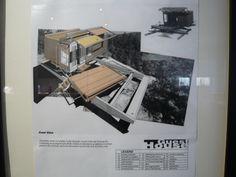 Jones, Partners : Architecture - Wes Jones - High Sierra Cabins - 1994. Naturaliser l'architecture - Exposition au Frac Orlean.