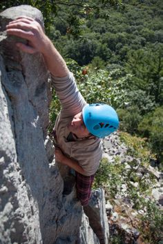 Looking good on the upper reaches of Zot (5.9)