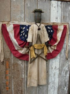PatternMart.com ::. PatternMart: Americana Black Liberty Angel Doll With Flag Bunting Wings-SPPO Black Liberty Angel