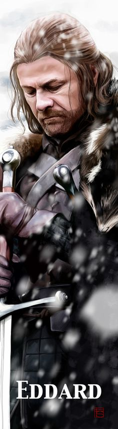 GOT - Eddard Stark by FloorSteinz.deviantart.com on @deviantART