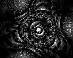 dark fractal wallpaper