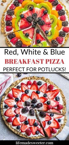 This fun spin on breakfast pizza is sure to be a hit! The flavors are fantstic and it's great for holidays and events. Breakfast Pizza, Breakfast Snacks, Breakfast Recipes, Most Pinned Recipes, Most Popular Recipes, One Pot Dinners, Slow Cooker Recipes, Meal Prep, Good Food