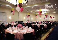 Pink bat mitzvah celebration.