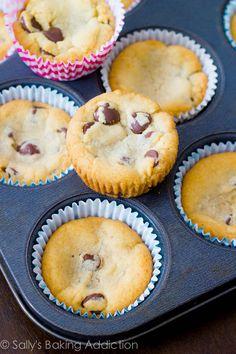 Sallys Baking Addiction Chocolate Chip Cookie Dough Cupcakes. » Sallys Baking Addiction