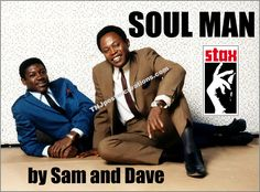 Sam and Dave-Soul Man Promotional Poster-Stax Records-1960's Soul Music by MyGenerationShop on Etsy
