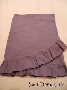 Sew Dang Cute Crafts: Charlotte Russe Inspired Skirt