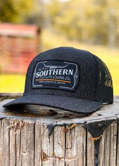 Logo: Embroidered Patch Material: Cotton/poly-twill front panels, Trucker mesh back Closure: Plastic snap adjustable Sizes: Adult | One size fits most Mens Outdoor Fashion, Mens Fashion, Country Hats, Country Style, Men's Style, Photography Branding, Photography Ideas, Outfits With Hats, Cattle