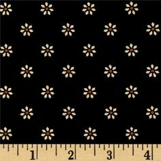 From Andover Fabrics, this cotton print is perfect for quilting, apparel and home decor accents. Colors include black, ivory and hints of brown.