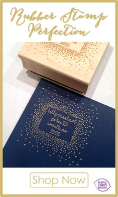 """The """"Stars in the Sky"""" Custom Rubber Stamp is rubber stamp perfection! Shop for this stamp and so many more now at shop.purplelemondesigns.com."""