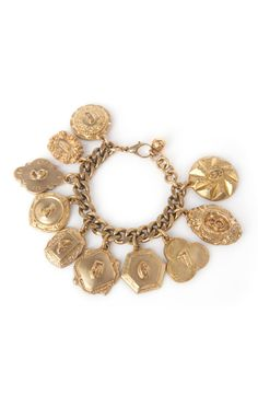 Charm them all with the Victorian Plaza Charm Bracelet ($530) from @Lulu Frost. This special keepsake would make a great gift! #giftideas #holiday2013 #lulufrost #charmbracelet #accessories