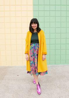 66ae548d8b colors Minimalist Chic, Midi Skirt, Comfy Casual, Nice Dresses, Feminine,  Fashion