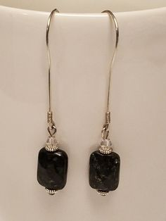 Hey, I found this really awesome Etsy listing at https://www.etsy.com/listing/496094308/black-obsidian-wire-earrings