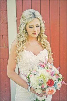 barnyard bridal looks
