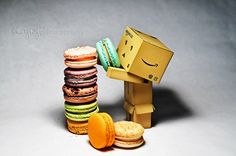 Danbo | We Love Macaroons! | by Gary Ngo | Photography, via Flickr