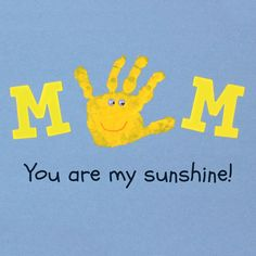 MOM, You are my sunshine! Such a sweet mother's day craft for the kids.
