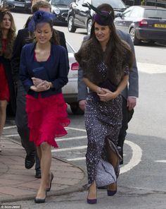 December 2012 - Pippa Middleton attended a friends wedding in Aberdeenshire.