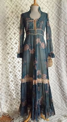 Vintage 1970's Gunne Sax Dress Never Worn with Tag SM | eBay