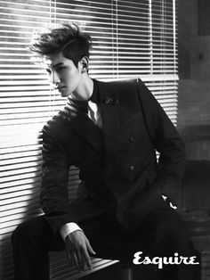TVXQ become cover models for the December issue of 'Esquire'