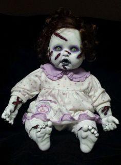 "Zombie Baby Exorcist ""ExorSusie"" Halloween Haunted House Prop in Collectibles, Holiday & Seasonal, Halloween | eBay"